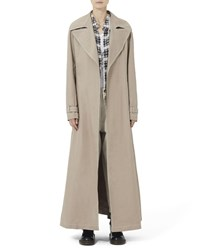 Marc Jacobs Redux Grunge Full Length Belted Trench Coat Tan