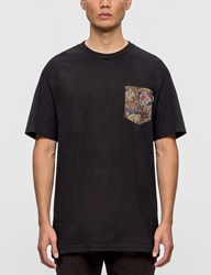 The Quiet Life Paisley Coral Pocket S S T Shirt