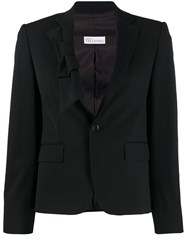 Red Valentino Bow Detail Blazer Black