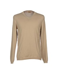 Alviero Martini 1A Classe Knitwear Jumpers Men Sand