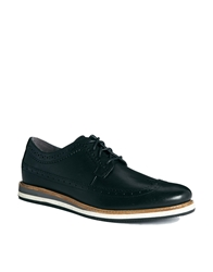 Hush Puppies Oxford Shoes Black