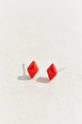 Diament Jewelry X Urban Renewal Tiny Red Diamond Stud Earring