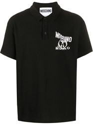Moschino Logo Print Polo Shirt 60