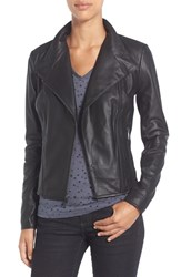Marc New York Women's By Andrew 'Felix' Stand Collar Leather Jacket