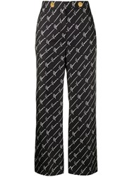 Versace Signature Cropped Trousers 60
