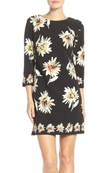 Taylor Dresses Women's Daisy Print Shift Dress