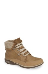 Chaco Barbary Waterproof Bootie Mink Leather