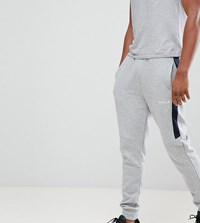 Nicce London Bronco Skinny Joggers With Side Stripe Exclusive To Asos Grey