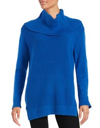 Michael Michael Kors Petite Turtleneck Sweater Amalfi Blue