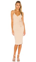 Privacy Please Evelyn Midi Dress In Tan. Natural Tan