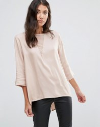 B.Young Flow Blouse With Back Pleat Rose Dust Pink