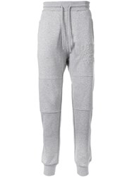 Love Moschino Embossed Logo Track Trousers Grey