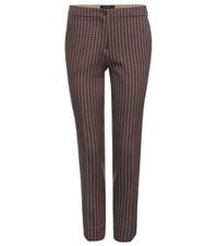 Etro Jacquard Trousers Multicoloured