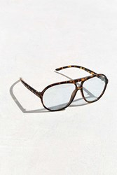 Urban Outfitters Icon Retro Aviator Readers Brown