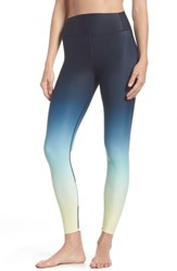 Splits59 Kinney High Waist Ankle Leggings Sunrise Ombre