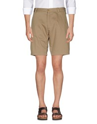 M.Grifoni Denim Shorts Khaki