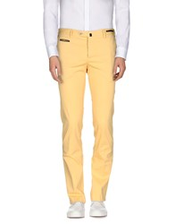 Pt01 Trousers Casual Trousers Men Yellow