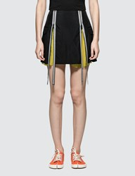 Maison Martin Margiela Nylon Slighly Froise Mini Skirt