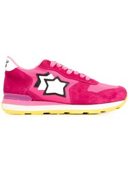 Atlantic Stars 'Vega' Sneakers Pink And Purple