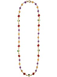 Chanel Vintage Beaded Gripoix Necklace