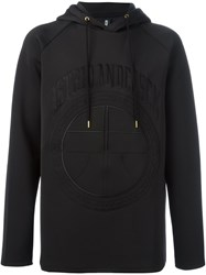 Astrid Andersen Embroidered Logo Hoodie Black