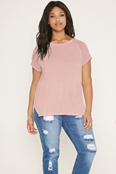 Forever 21 Plus Size Chiffon Sleeve Tee