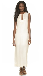 Twelfth St. By Cynthia Vincent Jalaba Maxi Dress Ivory