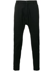 Helmut Lang Drop Crotch Trousers Black