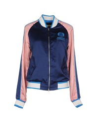Franklin And Marshall Coats And Jackets Jackets Women Blue