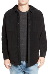 O'neill Men's Glacier Quilt Lined Flannel Shirt Black