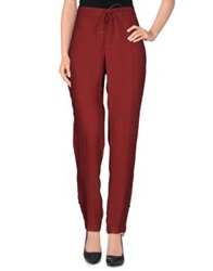 Xandres Casual Pants Garnet
