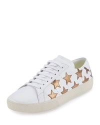 Saint Laurent Star Court Classic Sneaker Off White Or Fonc