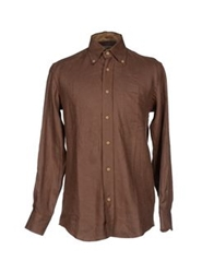Alviero Martini 1A Classe Shirts Brown