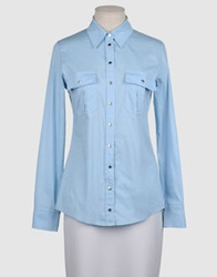 Denny Rose Long Sleeve Shirts Sky Blue
