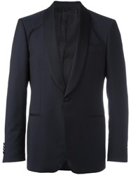 Salvatore Ferragamo Smoking Suit Blue