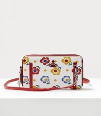 Vivienne Westwood Derby Double Zip Round Crossbody Bag Andreas' Flowers Andrea's Flowers