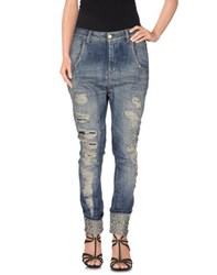 Manila Grace Denim Denim Denim Trousers Women