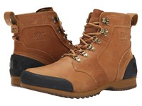 Sorel Ankeny Mid Hiker Grizzly Bear Maple Men's Boots Brown