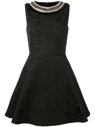 Amen Flared Dress Black