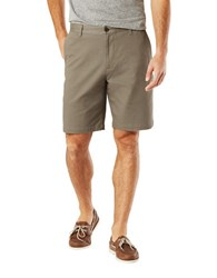 Dockers Solid Four Pocket Shorts Grey