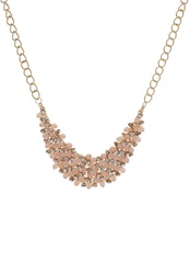 Anna Field Necklace Gold Rose