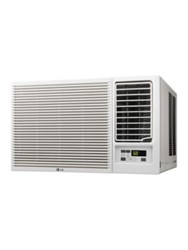 Lg Electronics 7500 Btu 115V Window Mounted Air Conditioner White