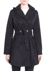 Laundry By Shelli Segal Women's Fit And Flare Trench Coat