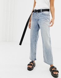 Cheap Monday Bez 90'S Jean With Recycled And Organic Cotton Blue