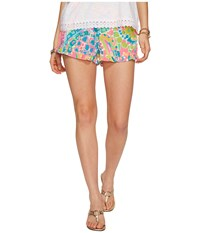Lilly Pulitzer Kya Shorts Multi Come Out Of Your Shell Women's Shorts