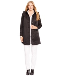 Lauren Ralph Lauren Plus Size Hooded Raincoat