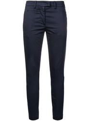Dondup Slim Trousers Blue