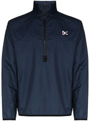District Vision Blue Theo Membrane Shell Performance Jacket