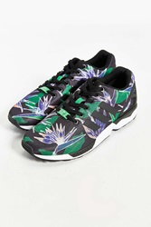 Adidas Originals Zx Flux Print Sneaker Black And White
