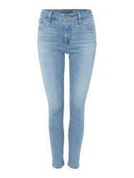 Ag Jeans Farrah Skinny Ankle Jean In 19 Years Ranso Denim Light Wash